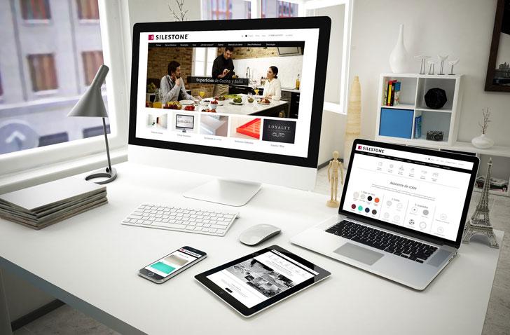 Nueva página web de Silestone by Cosentino