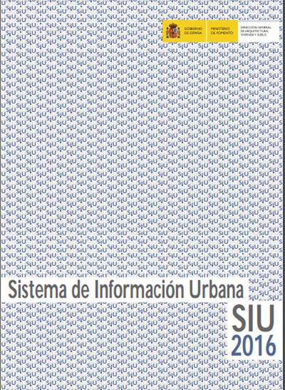 Sistema de Información Urbana 2016.