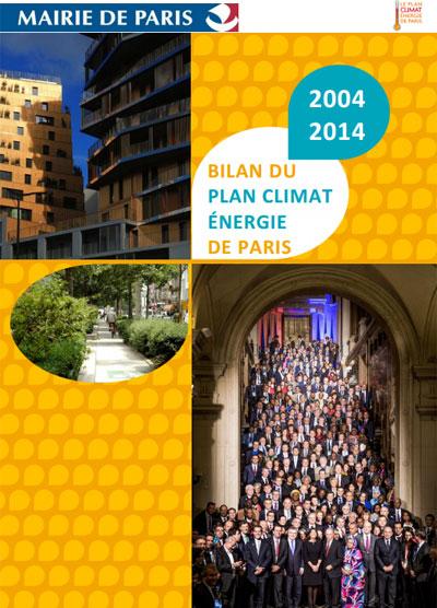 Plan energético de París 2004-2014.