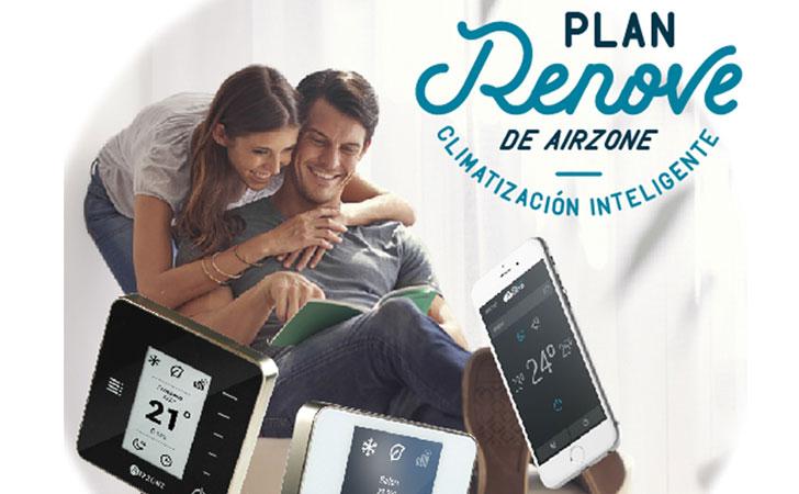 Airzone lanza un Plan Renove 2016 para hogares y oficinas.