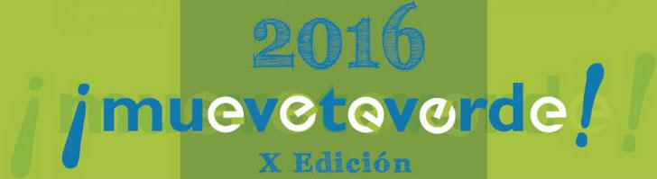 Cartel de los premios Muévete Verde convocados por el Ayuntamiento de Madrid.