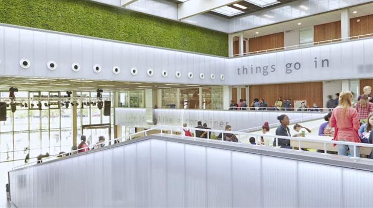 Centro Lyceym Schravenlant, un centro educativo sin emisiones de CO2.