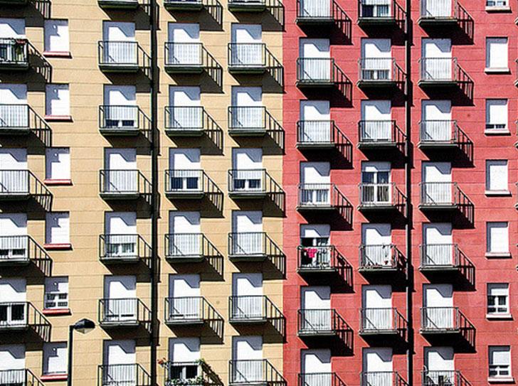 Edificios rehabilitados con el Programa de Rehabilitación Urbana en Castilla y León.