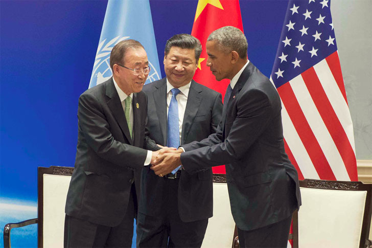 Estados Unidos y China ratifican el Acuerdo del Clima de París.