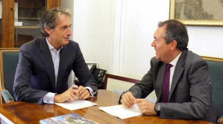 Alcalde de Santander y Sevilla acuerdan colaborar en materia de innovación y cambio climático.