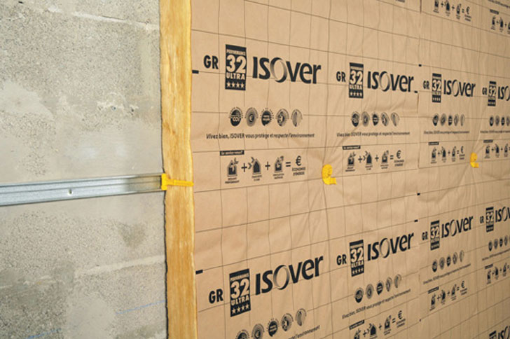 Sistema OPTIMA para trasdosados interiores de Isover.