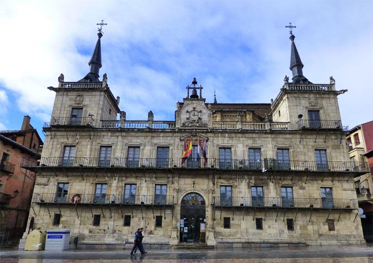 Ayuntamiento de Léon, municipio que se suma al Pacto de los Alcaldes.