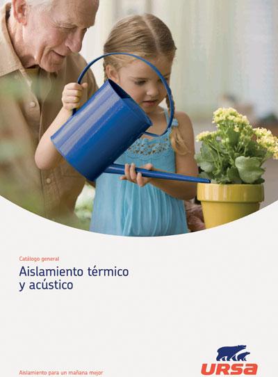 Catálogo de aislamiento térmico y acústico de URSA.