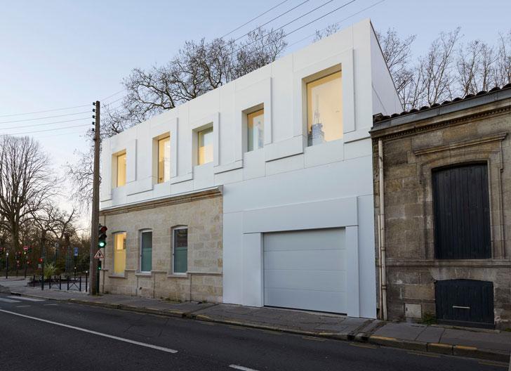 Dupont Corian en el estudio BuPa Architectures.
