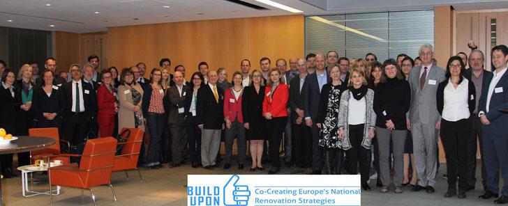 Integrantes y participantes en el proyecto Build Upon.