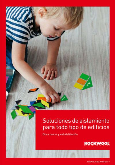 Catálogo de Rockwool sobre soluciones de aislamiento.