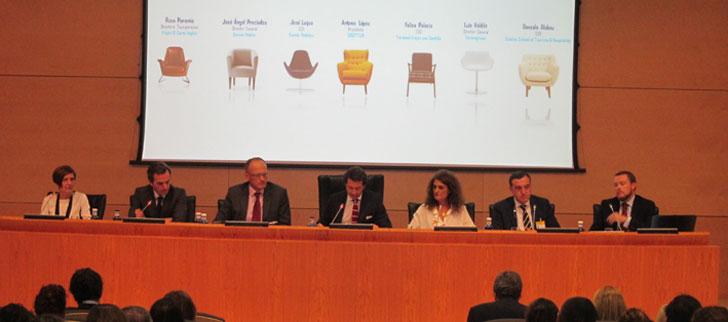 Ponentes de la mesa redonda de la presentación del proyecto sobre Turismo Sostenible.