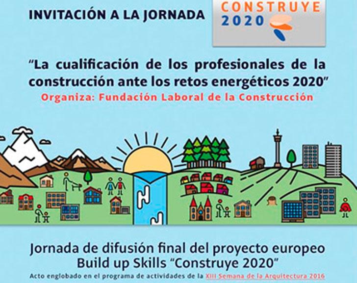 Jornada de la Fundación Laboral sobre la formación y cualificación ante los nuevos retos de la construcción.