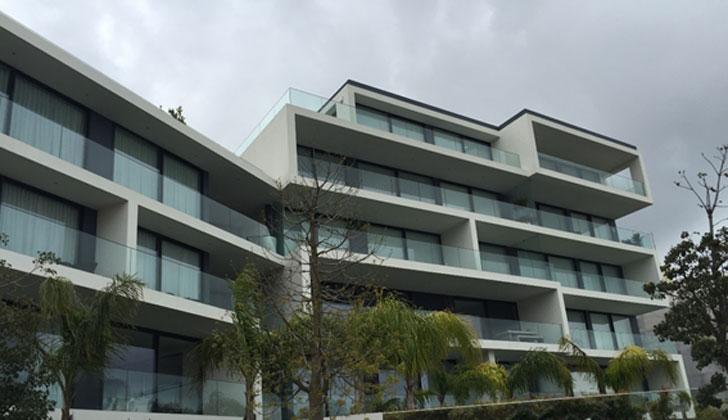 Viviendas de lujo de Varandas de Moser en Estoril que cuentan con sistemas de climatización de Airzone.