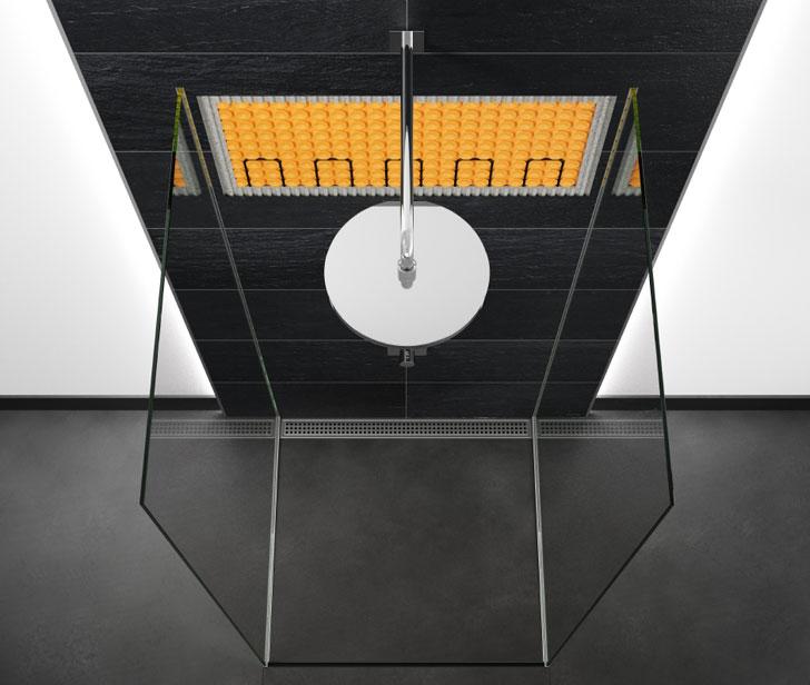 Sistema Schlüter Ditra-heat-e