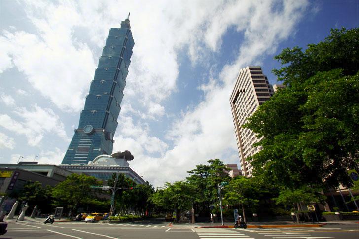 Rascacielos sostenible Tapei 101 gracias a una plataforma de Siemens.