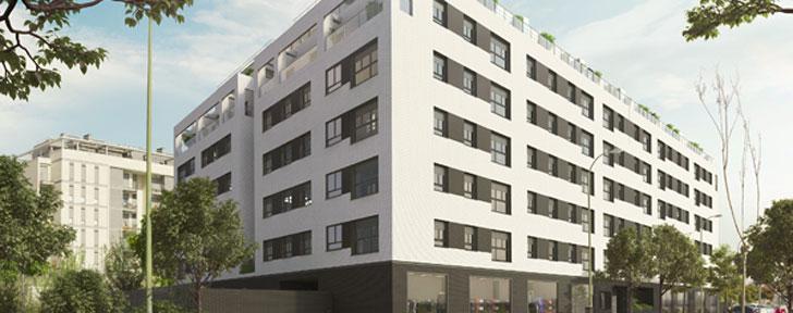 Nueva promoción residencial de Vía Célere en Villaverde.