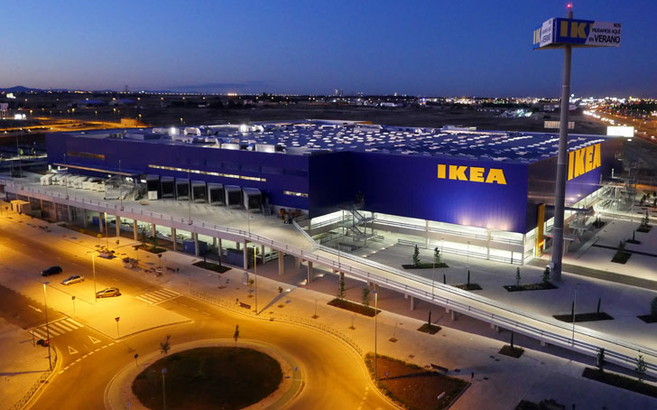 Ikea de Alcorcón apuesta por un ajardinamiento sostenible.