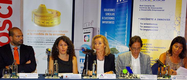 Jornada de Sostenibilidad y Eficiencia Energética celebrada en Lanzarote.