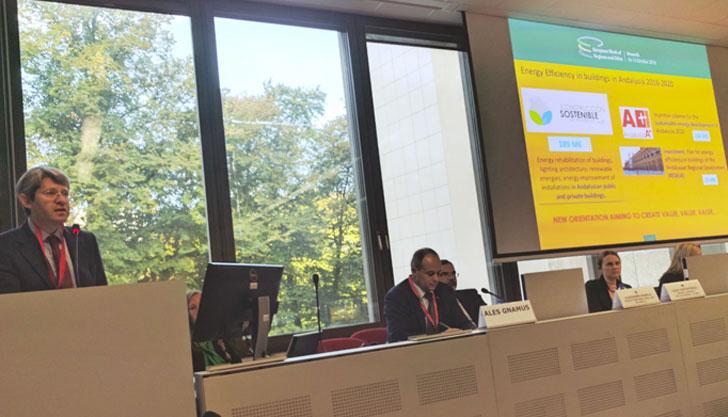 Andalucía lidera la creación de una Red de Regiones Europeas de Construcción Sostenible.