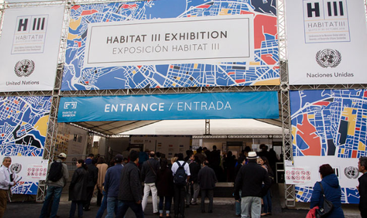 Apertura de la Conferencia del Urbanismo Sostenible, Hábitat III.