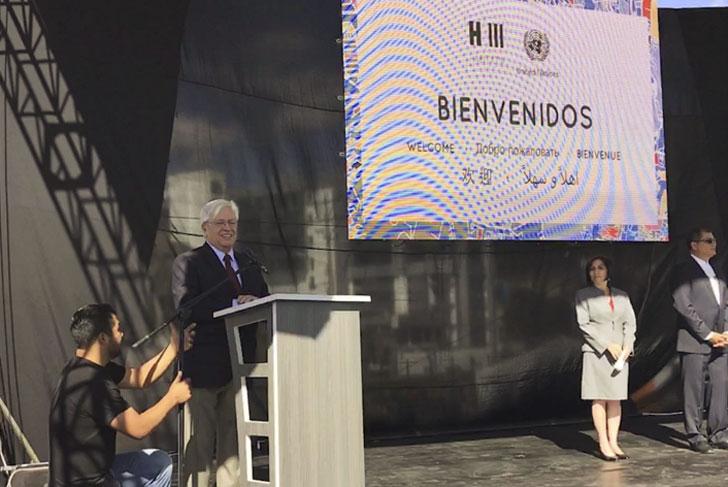 Conferencia de Hábitat III en Quito.
