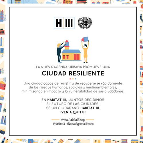 La Agenda Urbana apuesta por una ciudad resiliente.