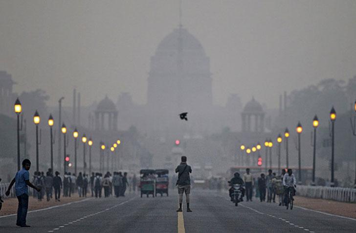 India lanza la aplicación para monitorear la contaminación.