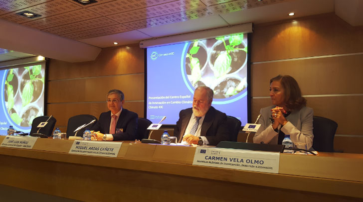 Climate-KIC Spain presenta su intención de fomentar las nuevas oportunidades de negocio generadas por el cambio climático.