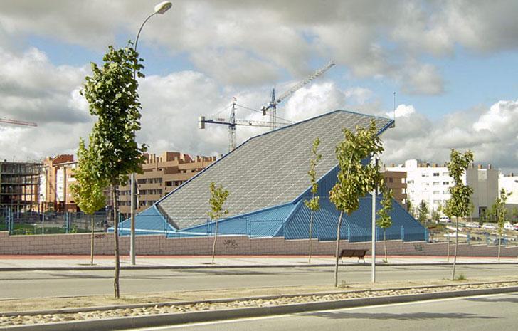 Central de Recogida de Residuos ubicada en Valdelasfuentes (Alcobendas).