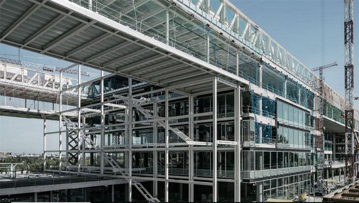 URSA instala más de 30.000 metros cuadrados de URSA.