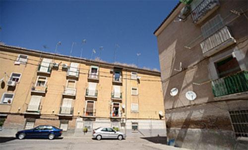 Barriada Santa Adela en Granada que se someterá ala rehabilitación del Gobierno.