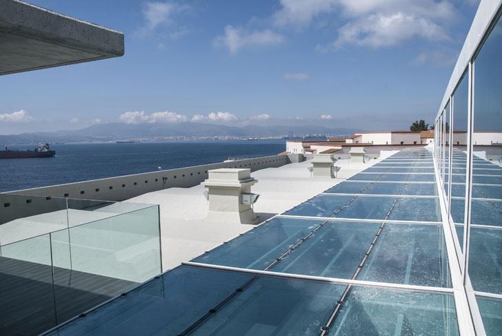 Sika impermeabiliza la cubierta de la Universidad de Gibraltar.