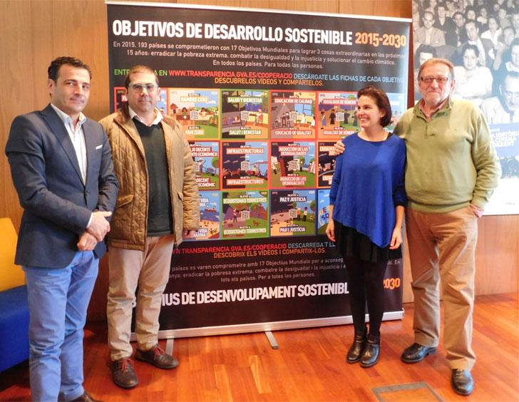 Torrent se suma a la campaña de divulgación ODS de la Generalitat.