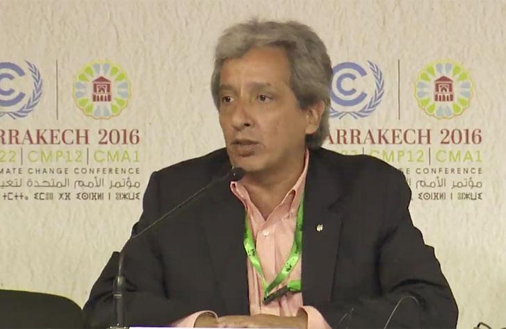 Manuel Pulgar-Vidal, lider de clima y energía de WWF.