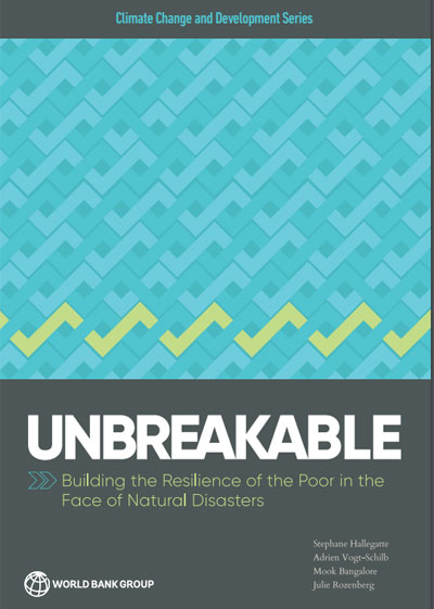Informe del Banco Mundial que relaciona los desastres naturales y la pobreza.