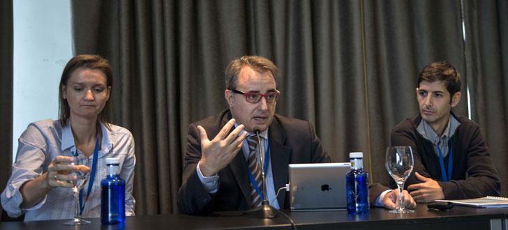 Albert Grau de La Casa que Ahorra en su intervención de presentación de los estudios.