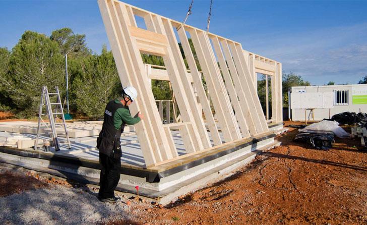 Construcción en 8 meses de esta Passivhaus Premium.