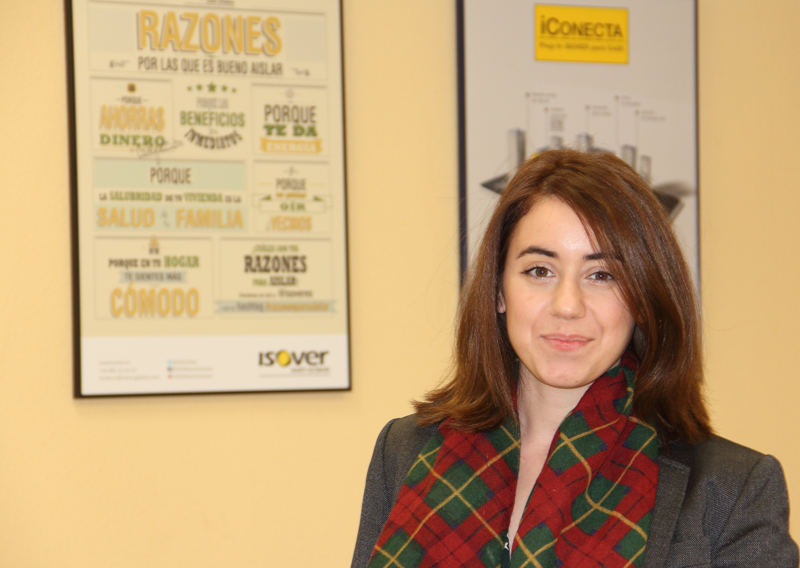 Ana Pallarés, Jefe Productos Edificación Isover