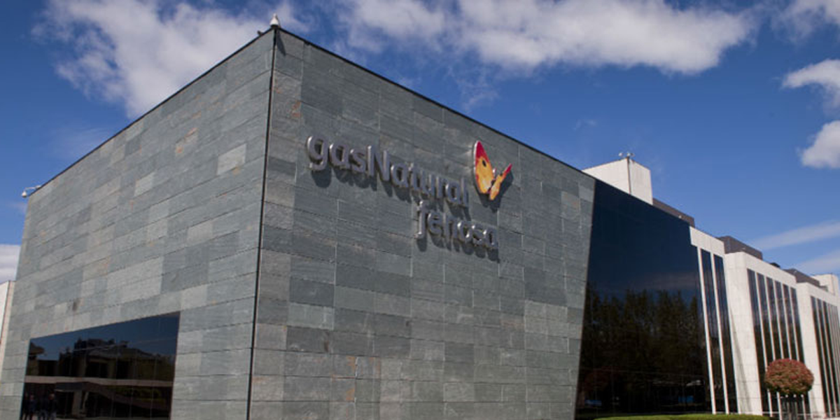Edifico de Gas Natural Fenosa, que ha celbrado un curso de eficiencia energética en hoteles en Galicia.
