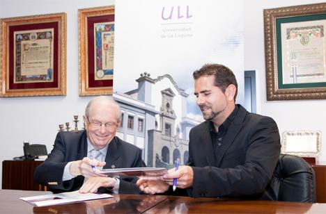 La Universidad de La Laguna firma un convenio de colaboración con la asociación empresarial Cluster Construcción Sostenible