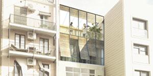 Nuevos áticos ecoeficientes en los tejados de Barcelona