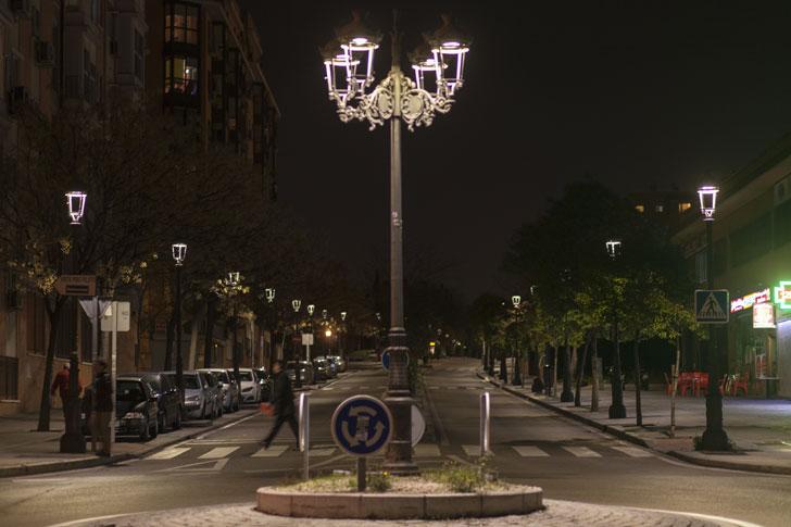 Alumbrado LED de Philips en Villaverde, Madrid