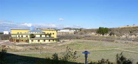 Parcela en la que se construirá el demostrador de Zaragoza, junto a la actual sede de CIRCE, y que albergará parte de sus oficinas y laboratorios