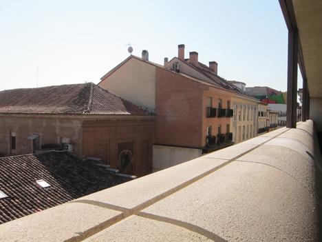 Cornisa de la terraza, tercera planta