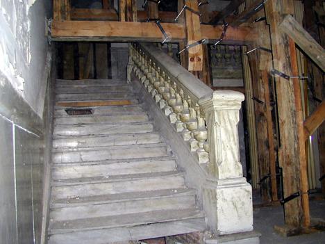 Interior antiguo edificio