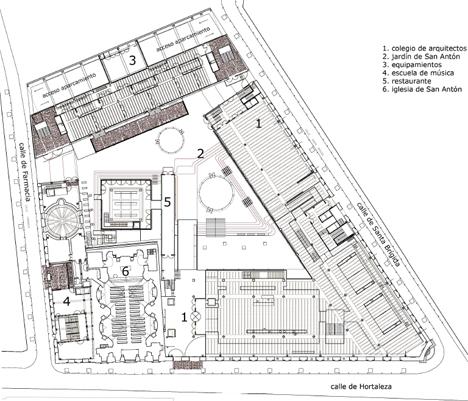 Lasede construible for Plantas de colegios arquitectura