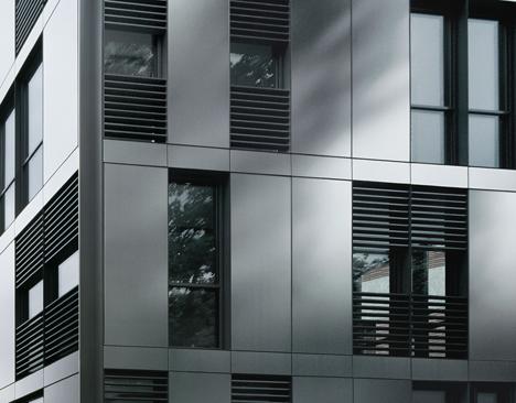 Fachada perfectible construible for Fachadas contemporaneas de edificios