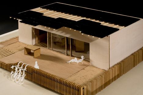 Ekihouse, casa solar participante en Solar Decathlon Europa de por la Universidad del País Vasco