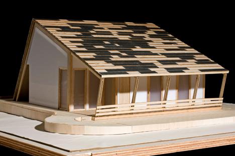 MAqueta Casa Solar Prispa